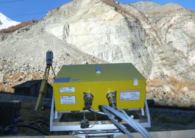 Das Radar hat eine Reichweite bis zu 4 km.