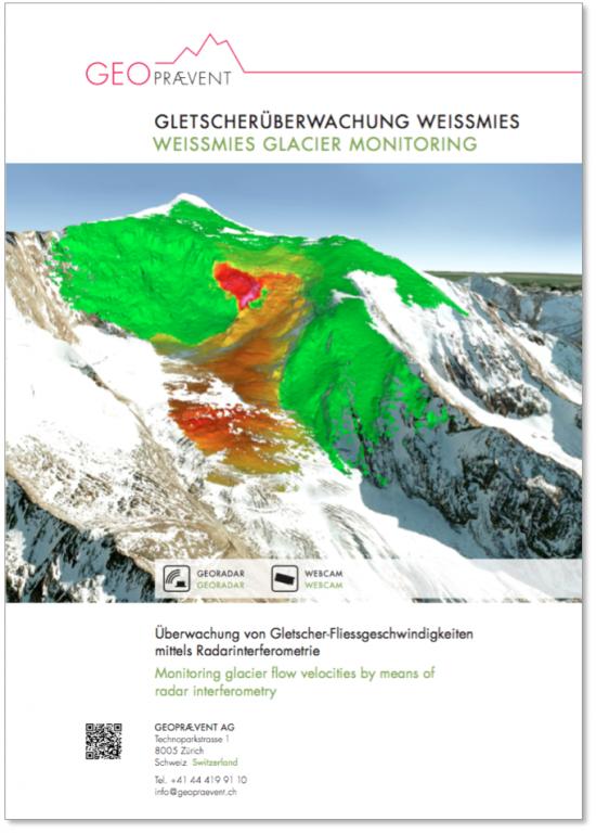 Gletscherüberwachung Weissmies