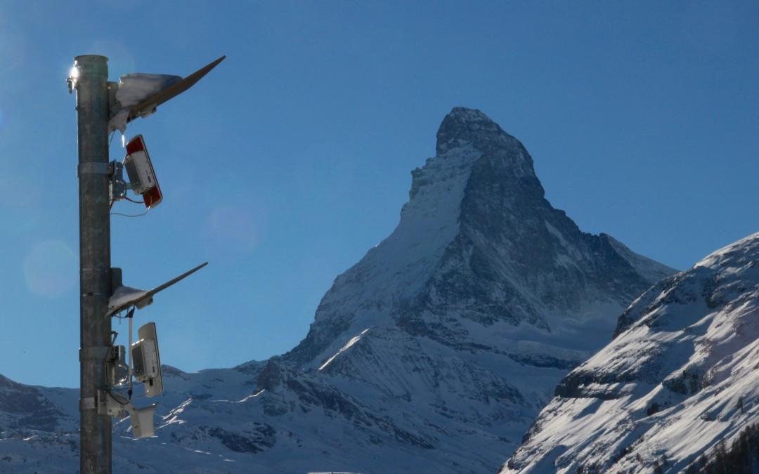 Weltpremiere: Lawinenradar Zermatt