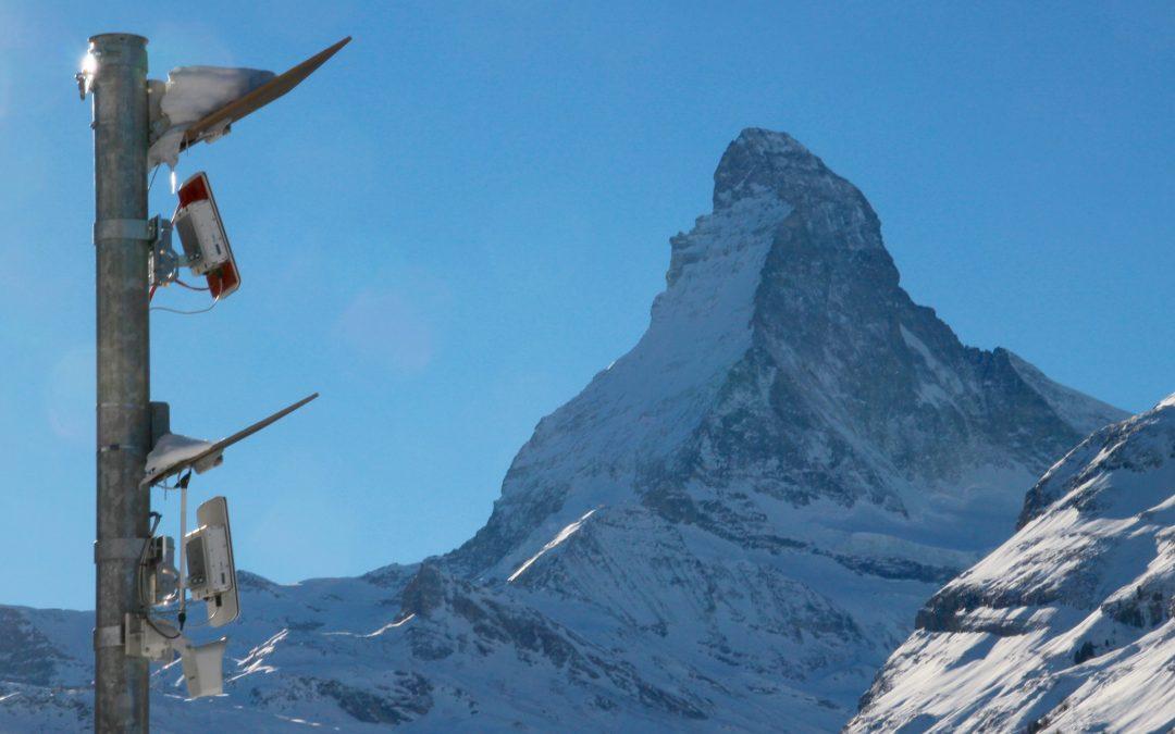 Radar de Avalanchas en Zermatt