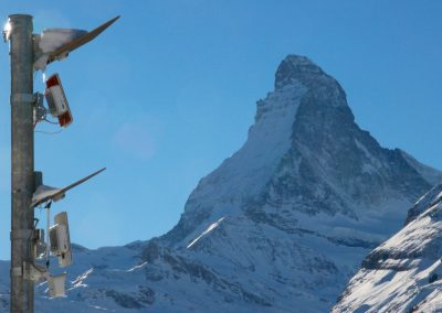 Avalanche radar Zermatt