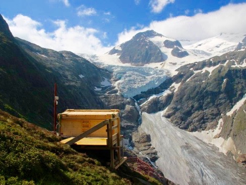 Gletscher Trift