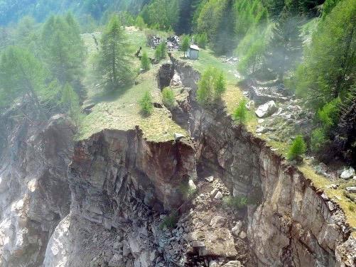 Bergsturz Preonzo