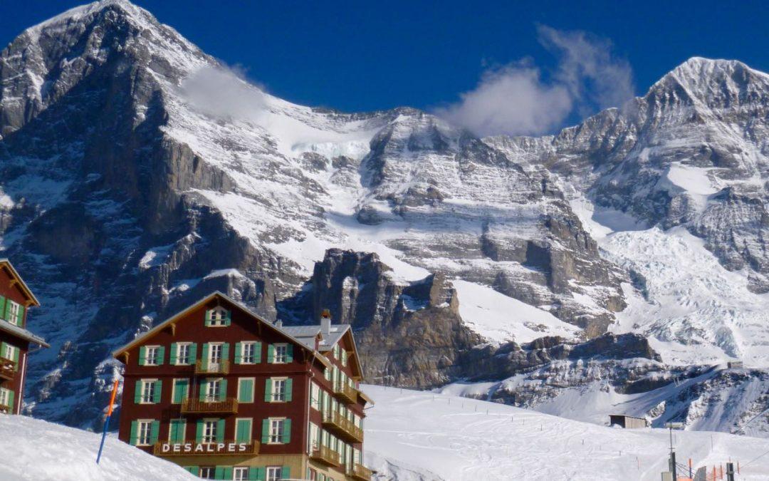 Gletscherabbruch von 20'000 Kubikmeter am Eiger
