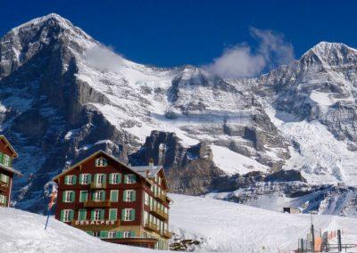 Vigilancia de los glaciares del Eiger