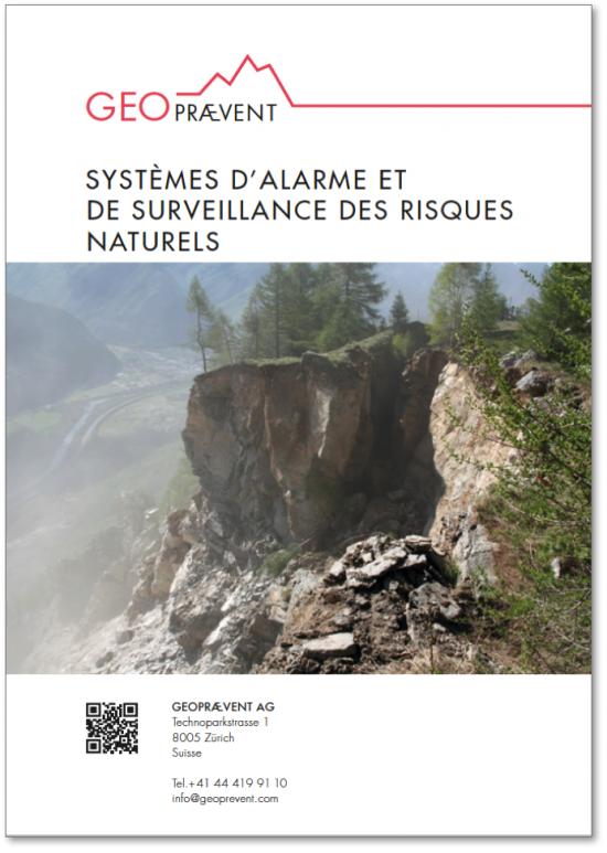 Systèmes d'alarme et de surveillance des risques naturels