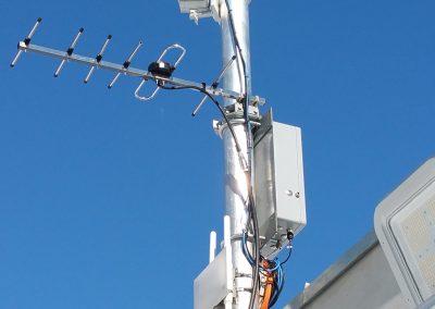 Das Personenradar detektiert Personen bei allen Wetterbedingungen. Zusätzlich liefern Kameras wertvolle Bilder.