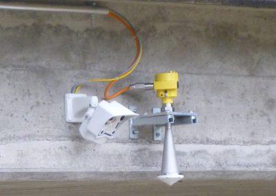 Zusätzlich zum Pegelradar liefert die Webcam wertvolle Bilder zur Situationsbeurteilung.