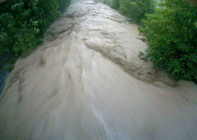 Hochwasserwarnung Zulg