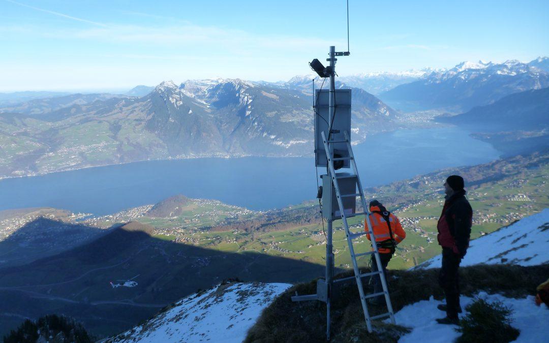 Ergänzung Meteo- und Schneehöhen-Messstation am Niesen