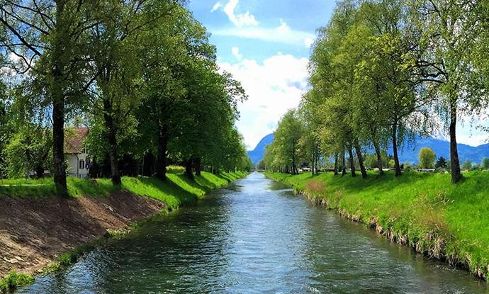 Hochwasser-Alarmierung Rheintaler Binnenkanal