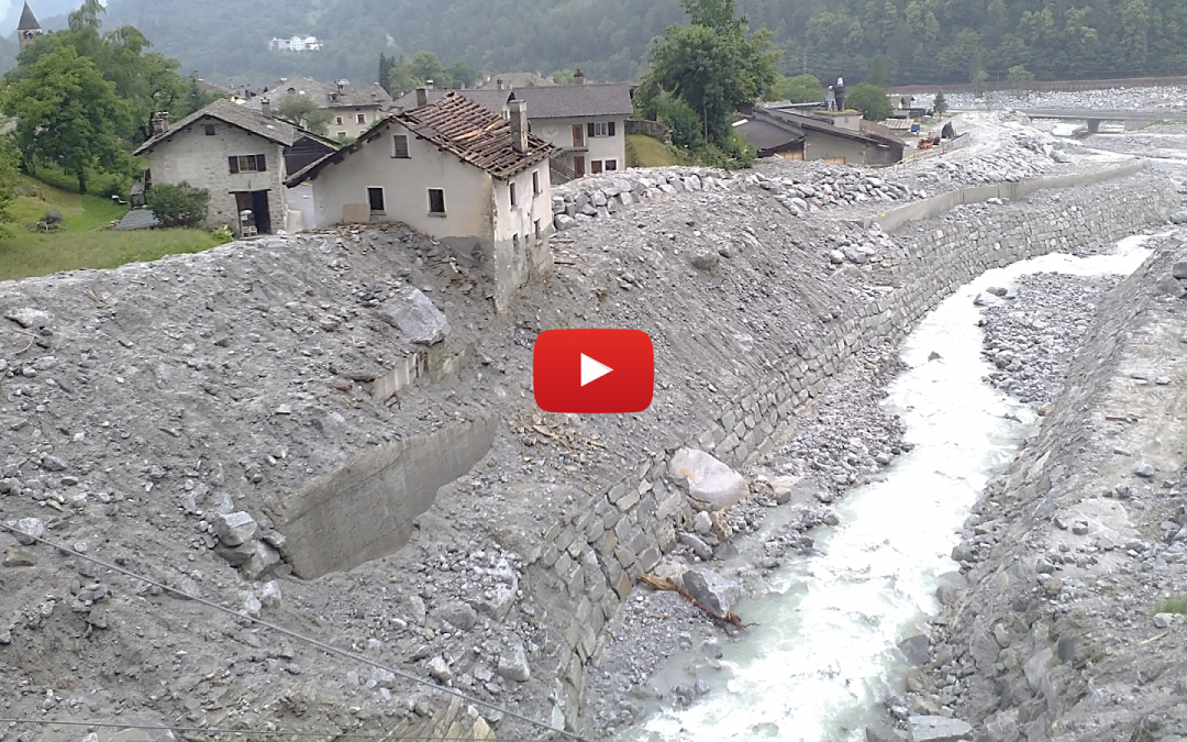 Bondo monitoring one year after the large rock avalanche