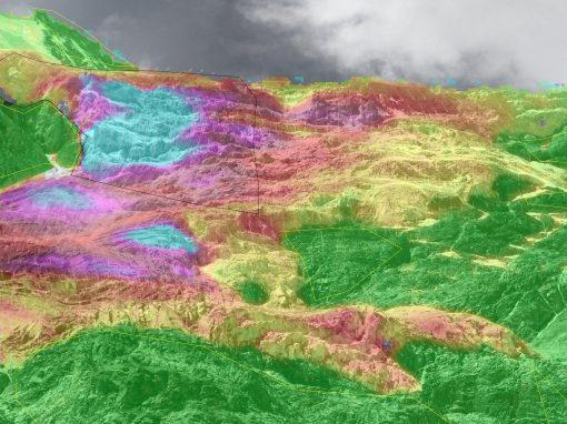 Monitoring Bis glacier Randa