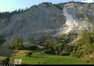 Steinschlagradar Brienz