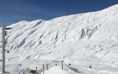 Belalp: Avalanche radar monitors ridge avalanche