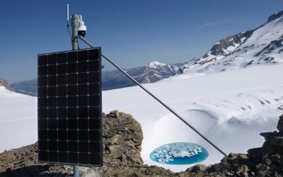 Plaine Morte: Overall monitoring system for glacial lake, drainage channel and runoff
