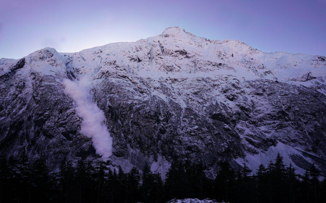 Lawinenradare Bear Pass, Kanada