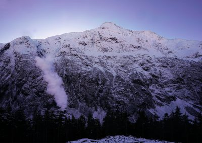 Radars d'avalanche Bear Pass, Canada