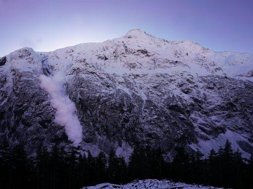 Avalanche radars Bear Pass, Canada