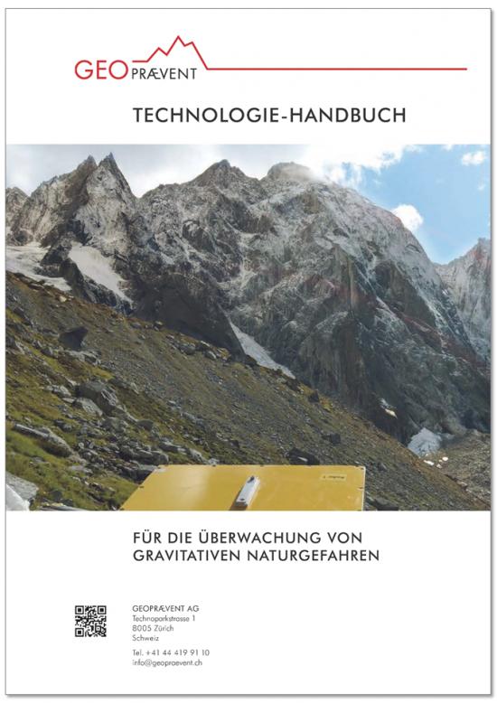 Informatives Technologie-Handbuch zur Überwachung von Naturgefahren.