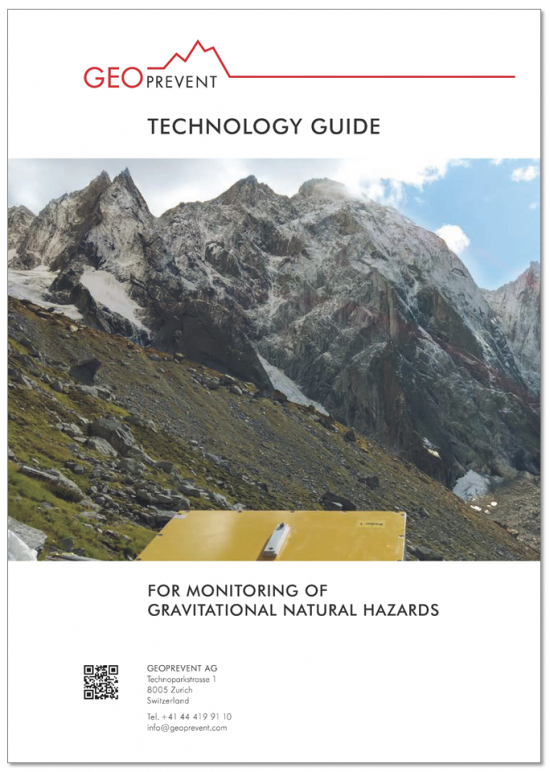 Technology guide for our warning and alarm systems to monitor natural hazards.