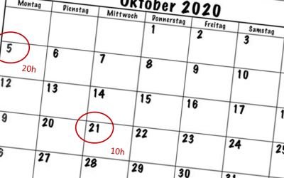 Digitale Events von Geopraevent im Oktober 2020