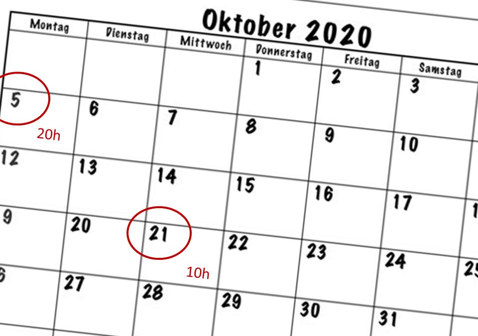 Digitale Events von Geopraevent im Oktober 2020