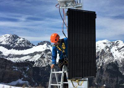 Installation der PRO Cam durch einen Geopraevent-Techniker.