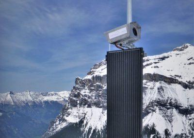 Die erste hochaufgelöste PRO Cam von Geopraevent wurde im Jahr 2019 installiert.