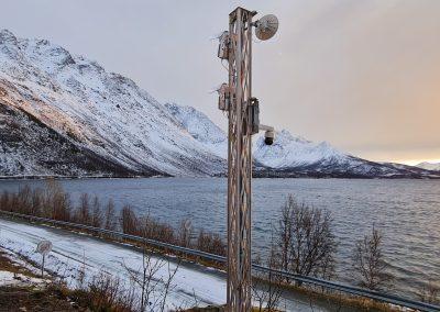 Lawinenradar Holmbuktura, Norwegen